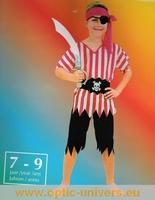pirate panoplie 7/9 ans Deguisement costume  panoplie