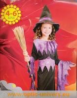 sorciere panoplie 4/6 ans Deguisement costume halloween
